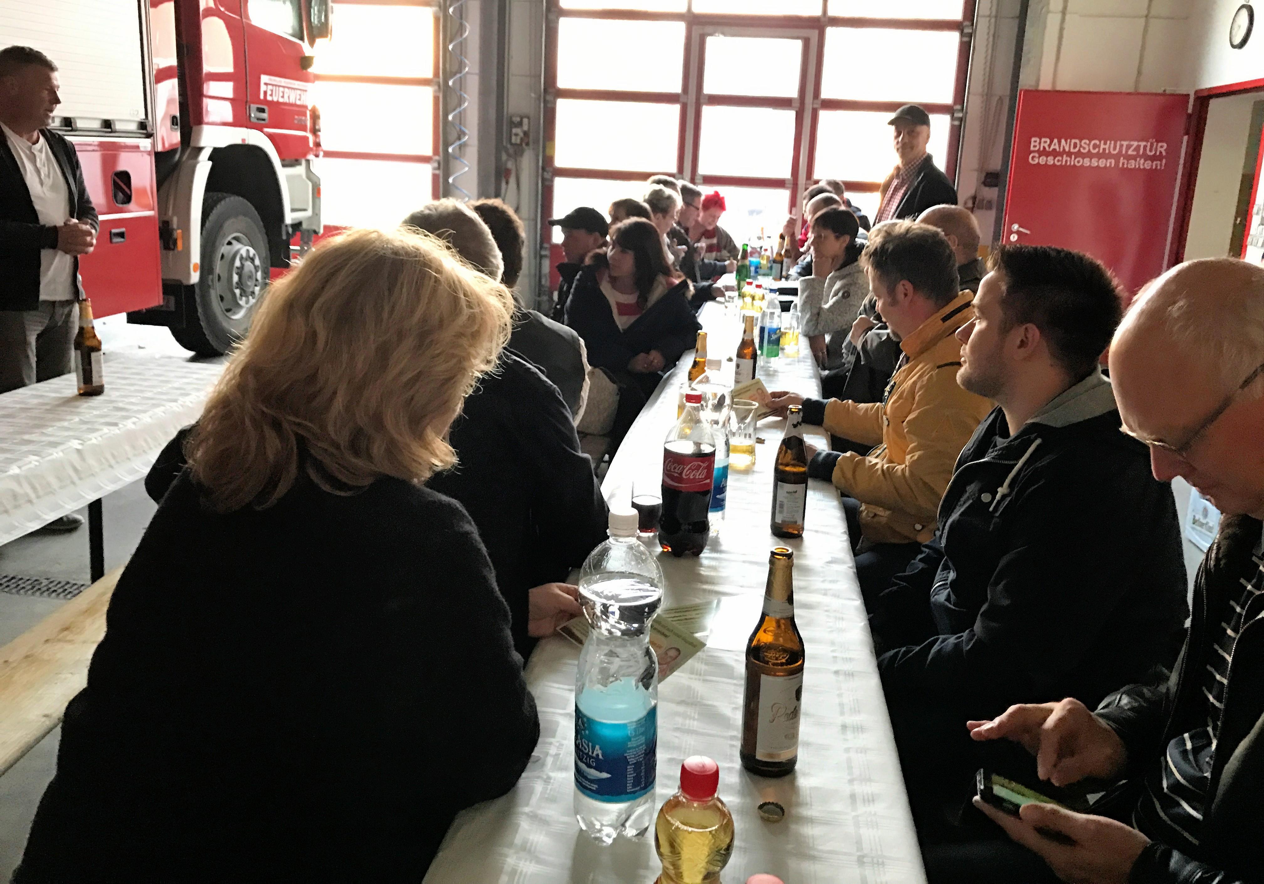 18.04.2017,  Info-Abend bei der Freiwilligen Feuerwehr