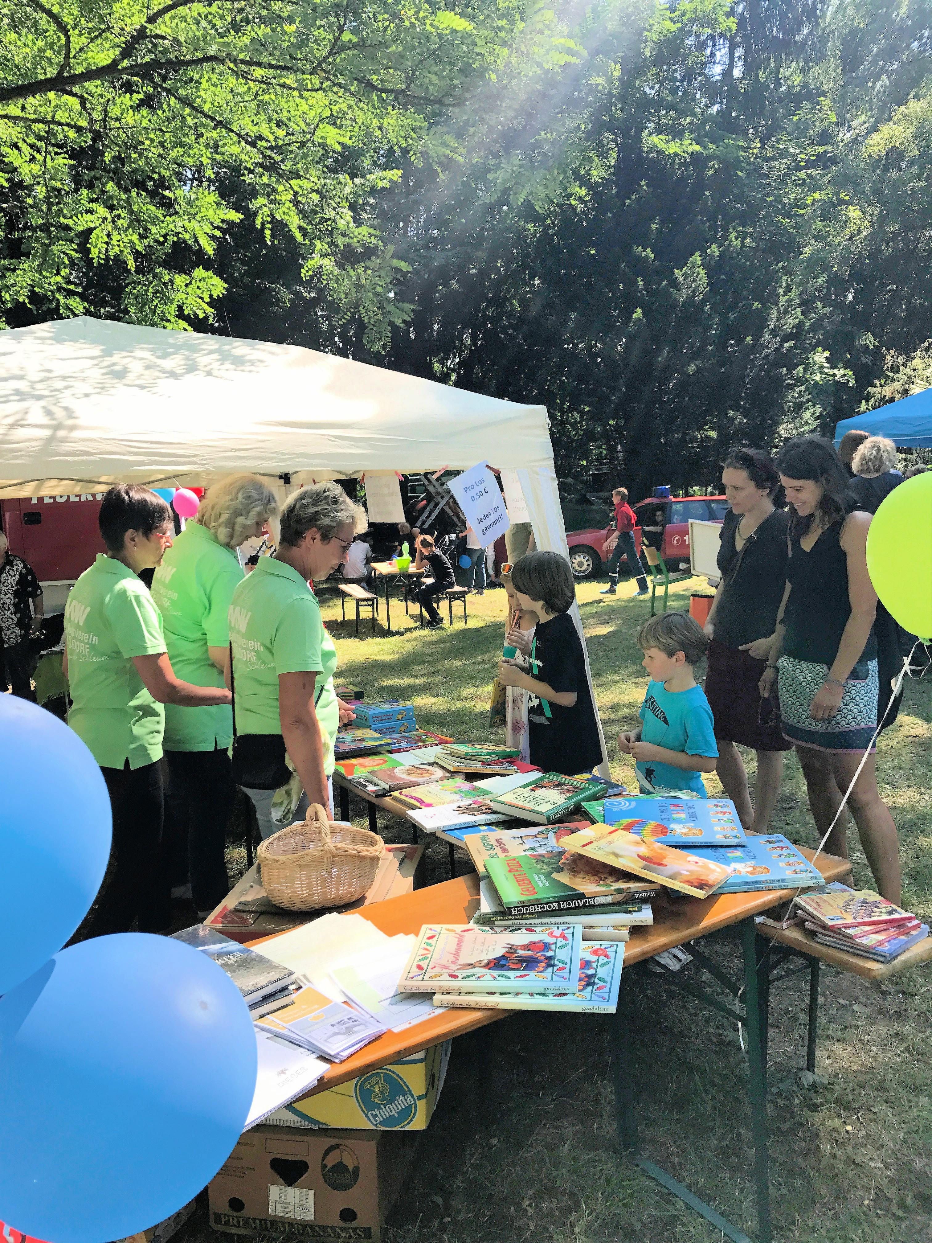 09.07.2017 Bunte MVW-Tombola zum Woltersdorfer Sommerfest